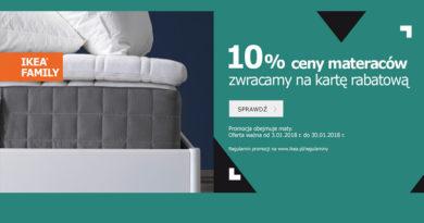 Ikea zawraca 10% ceny materaców