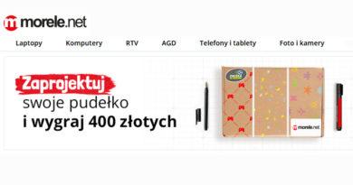 Konkurs Morele.net: Wygraj voucher 400 zł