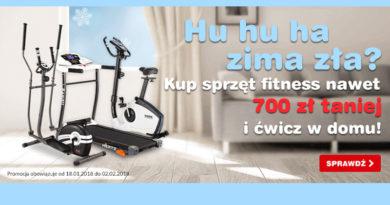 Sprzęt fitness nawet 700 zł taniej w OleOle!