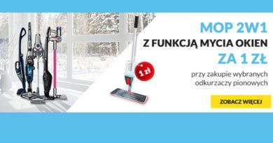 Mop 2W1 za 1 zł w RTV euro AGD