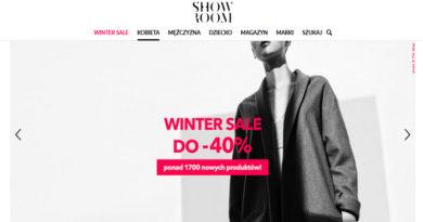Winter sale do -40% w sklepie Showroom