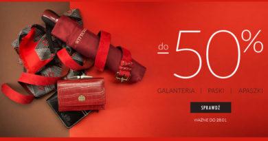 Galanteria do -50% w sklepie Wittchen