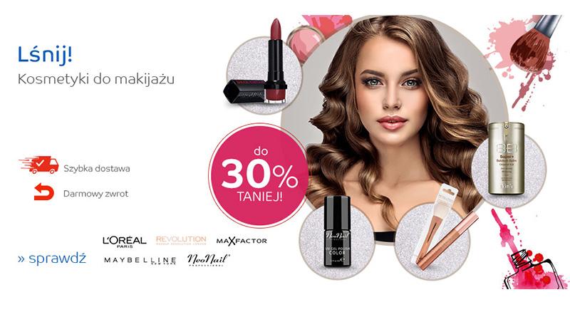 Kosmetyki do makijażu do 30% taniej na eMag.pl