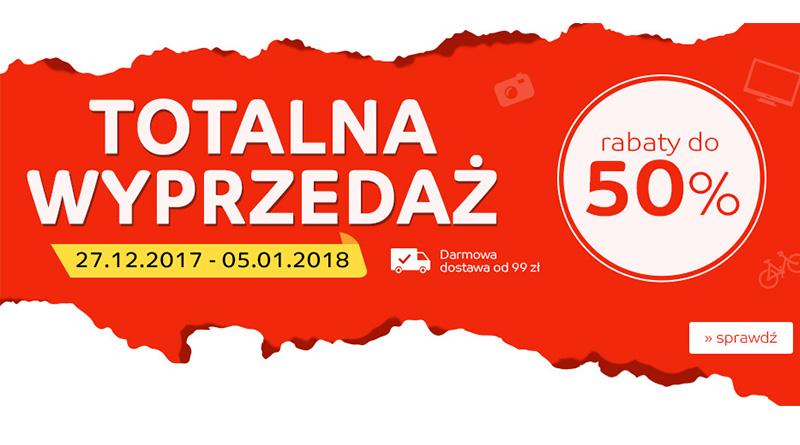 Totalna wyprzedaż do -50% na eMag.pl