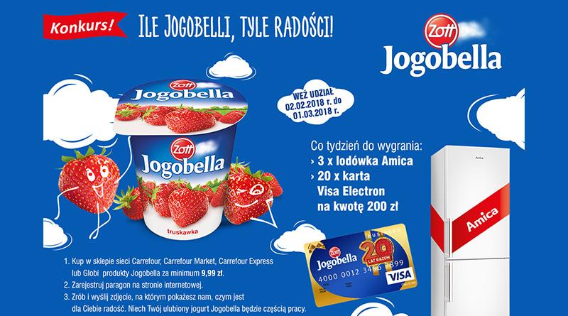 Konkurs Carrefour: Ile Jogobelli, tyle radości!