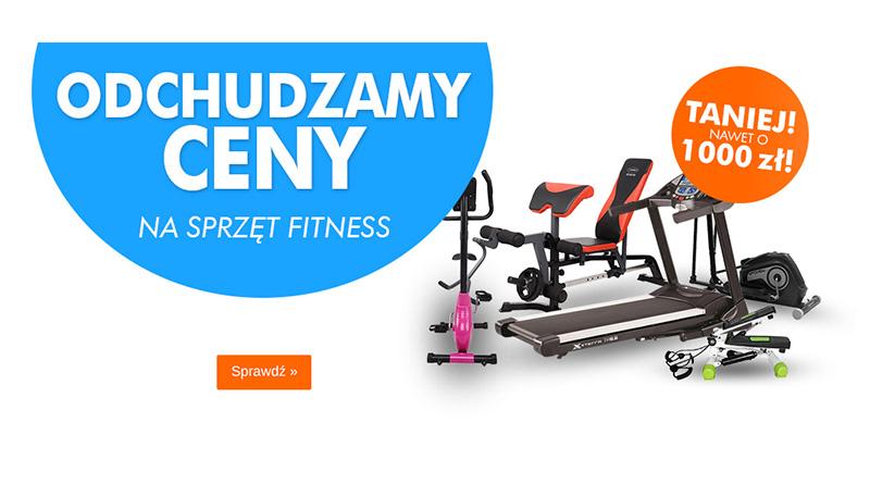 Sprzęt fitness taniej nawet o 1000 zł w Electro