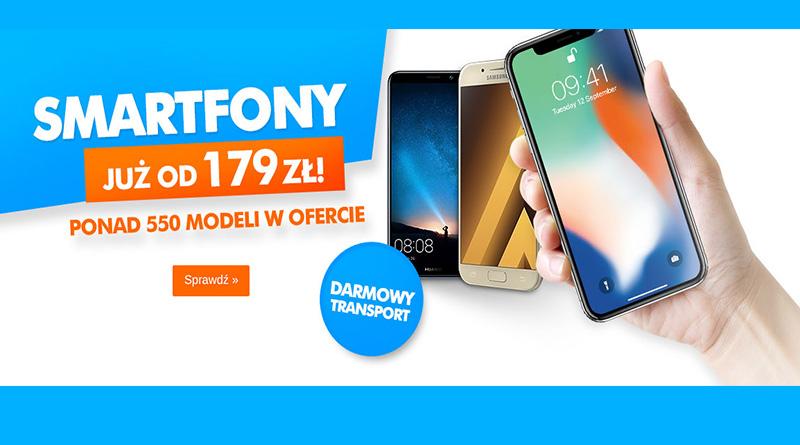 Smartfony już od 179 zł w sklepie Electro