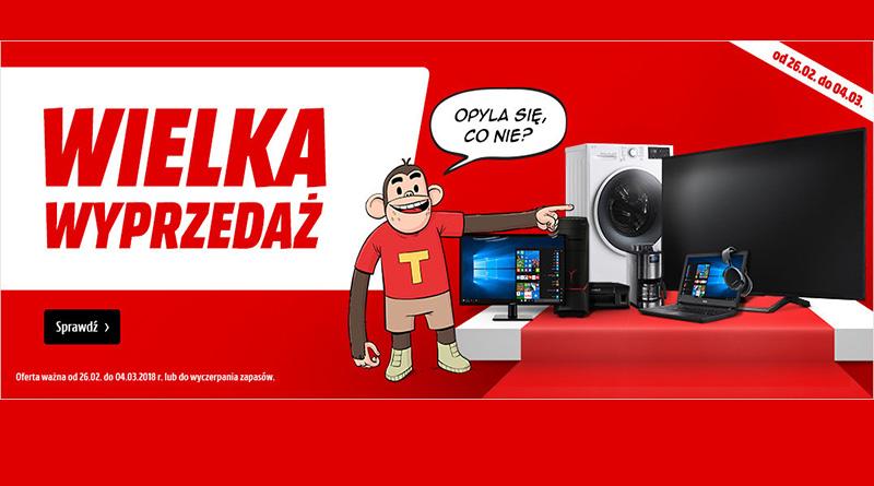 Rabaty na sprzęt komputerowy do 2000 zł w Media Markt