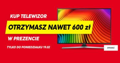 Kup TV i odbierz nawet 600 zł w prezencie w Neonet