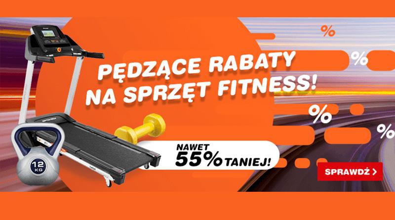 Sprzęt Fitness nawet 55% taniej w OleOle!