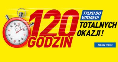 120 godzin totalnych okazji w RTV euro AGD