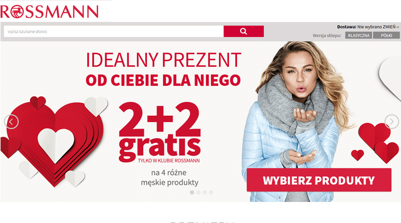 2+2 gratis na 4 męskie produkty w Rossmann