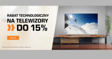 Rabat technologiczny do 15% w sklepie Saturn