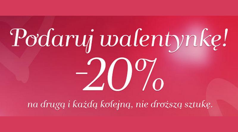 Rabat 20% na drugą rzecz w YES