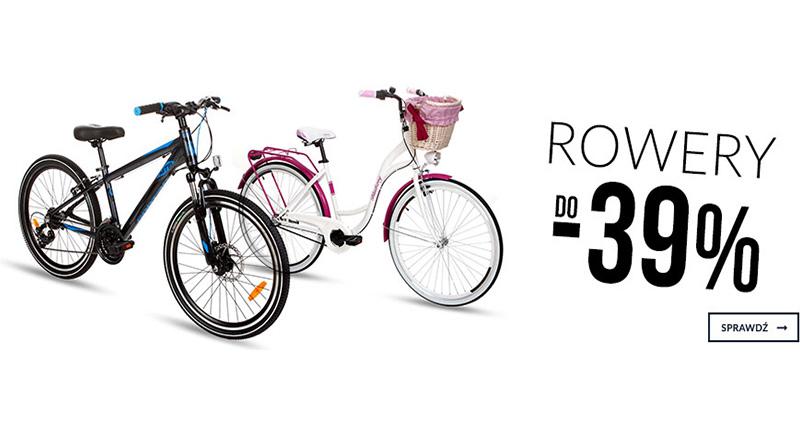 Rowery do -39% taniej na Empik.com