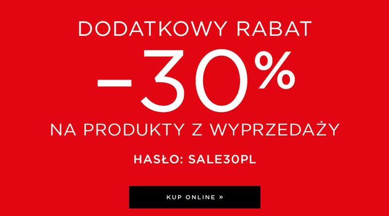 Rabat 30% na produkty z wyprzedaży w Mohito