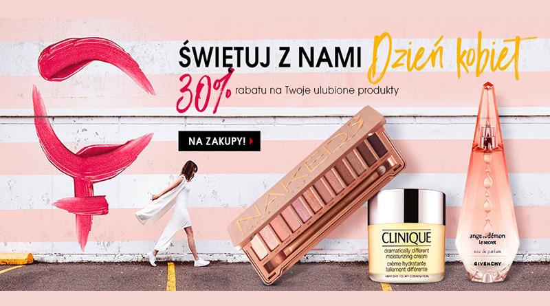 30% rabatu z okazji Dnia Kobiet w Sephora