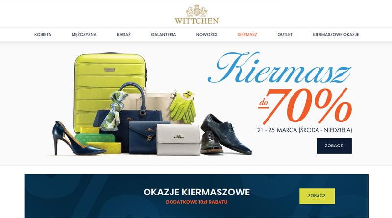 Kiermasz do 70% taniej w Wittchen