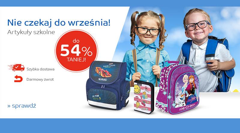 Artykuły szkolne do 54% taniej na eMag.pl