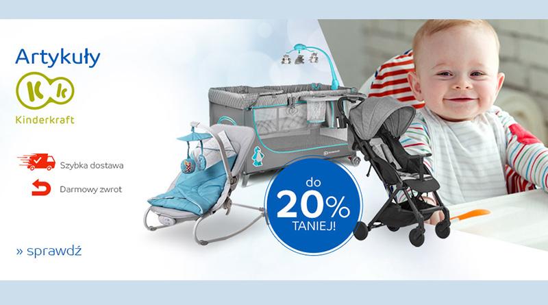 Artykuły Kinderkraft do 20% taniej na eMag.pl