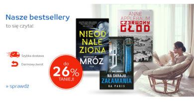 Rabaty do -26% na książki w sklepie eMag.pl