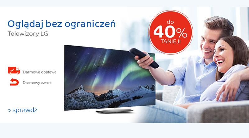 Telewizory LG do 40% taniej na eMag.pl