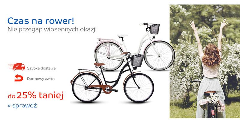 Rowery do 25% taniej na eMag.pl