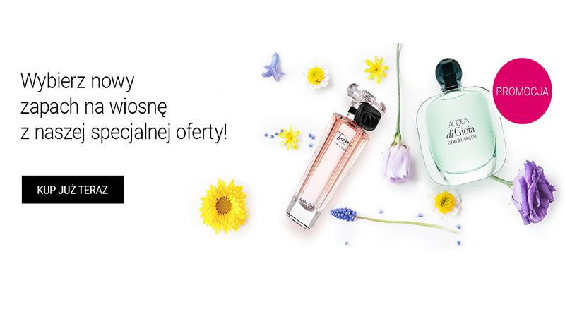 Wiosenne zapachy w specjalnej ofercie na iperfumy.pl