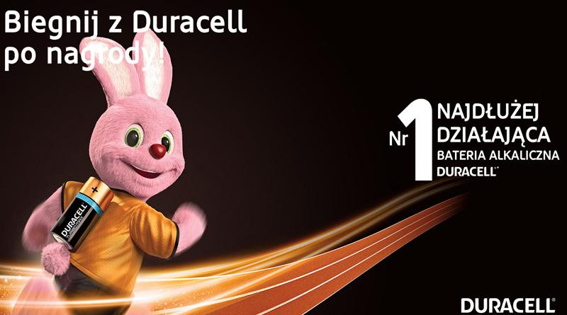 Konkurs Duracell: Biegnij z Duracell po nagrody