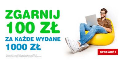 Zgarnij 100 zł za każde wydane 1000 zł w OleOle!