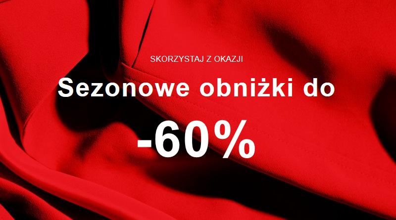 Sezonowe obniżki do 60% taniej w Zalando