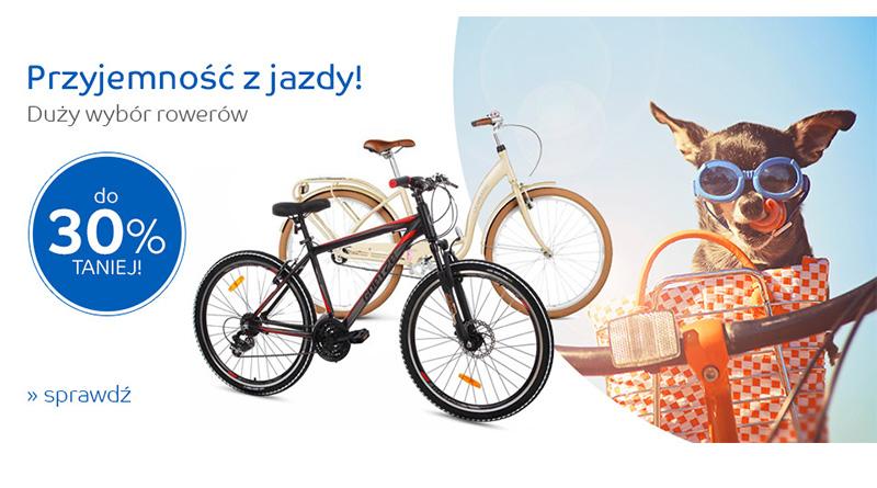 Rowery do 30% taniej na eMag.pl