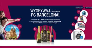 Konkurs Tesco: Wygrywaj z produktami FC Barcelona
