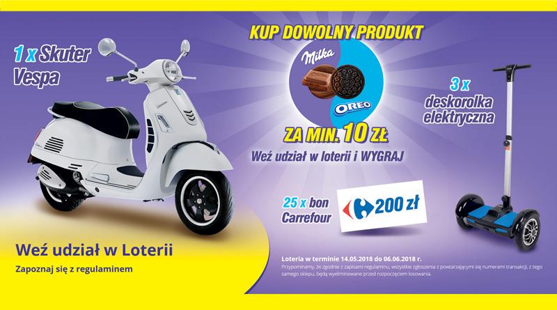 Loteria Carrefour: Milka i Oreo w Carrefour