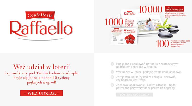 Loteria Raffaello: Więcej niż tysiąc pięknych gestów