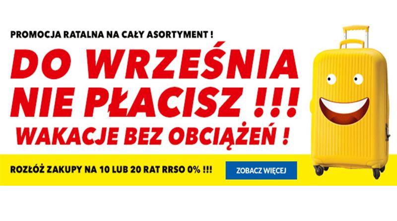 W RTV euro AGD do września nie płacisz!