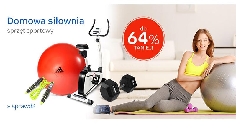 Sprzęt sportowy do 64% taniej na eMag.pl