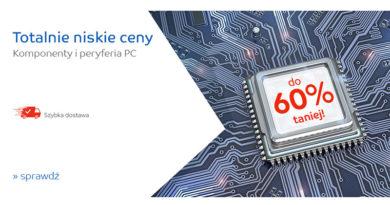 Komponenty i peryferia PC do 60% taniej na eMag.pl