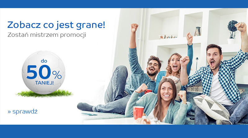 Do 50% taniej na eMag.pl