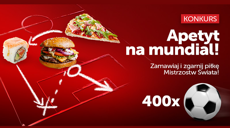 Konkurs PizzaPortal: Apetyt na Mundial