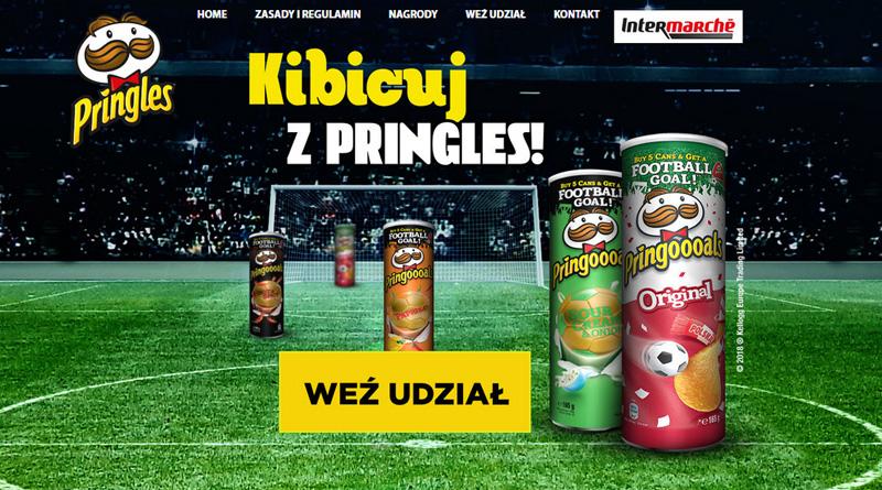 Loteria Intermarche: Kibicuj z Pringles