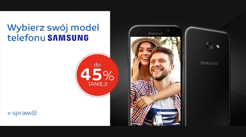 Telefon Samsung do 45% taniej na eMag.pl