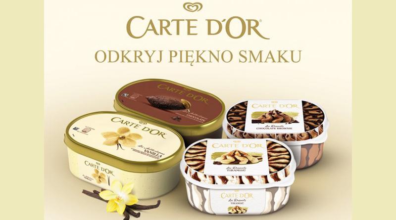 Konkurs Carte d'Or: Odkryj piękno smaku Carte d'Or