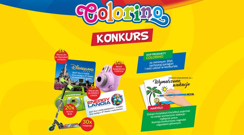 Konkurs Colorino: Wygraj wycieczkę do Disneylandu