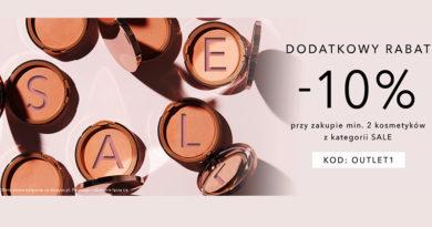 Otrzymaj dodatkowy rabat 10% w drogerii Douglas