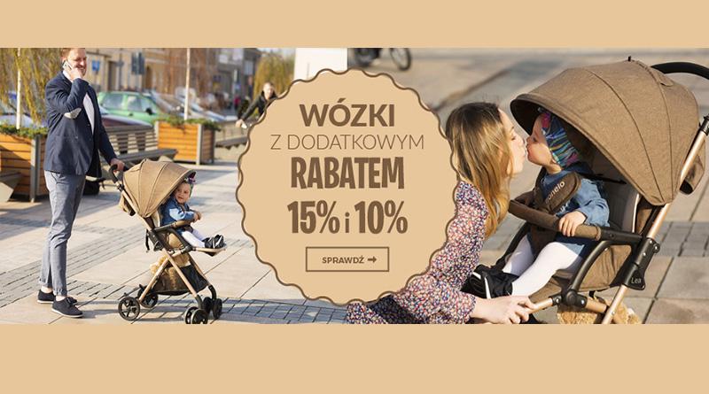 Kup wózek z rabatem do 15% na Empik.com