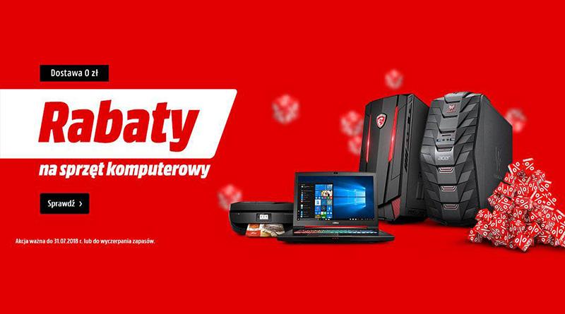Rabaty na sprzęt komputerowy w Media Markt