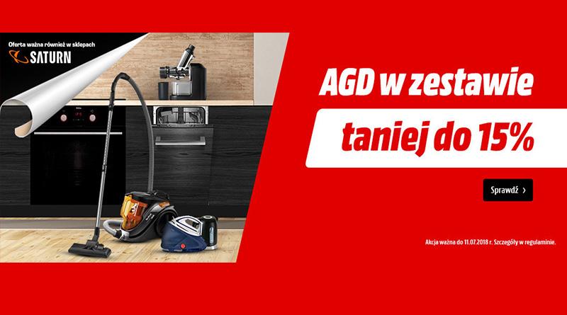 AGD w zestawie do 15% taniej w Media Markt