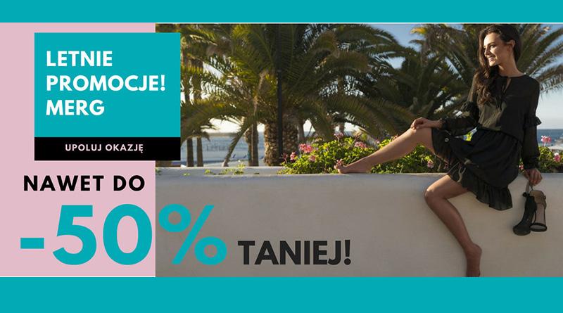 Letnie promocje do -50% na merg.pl