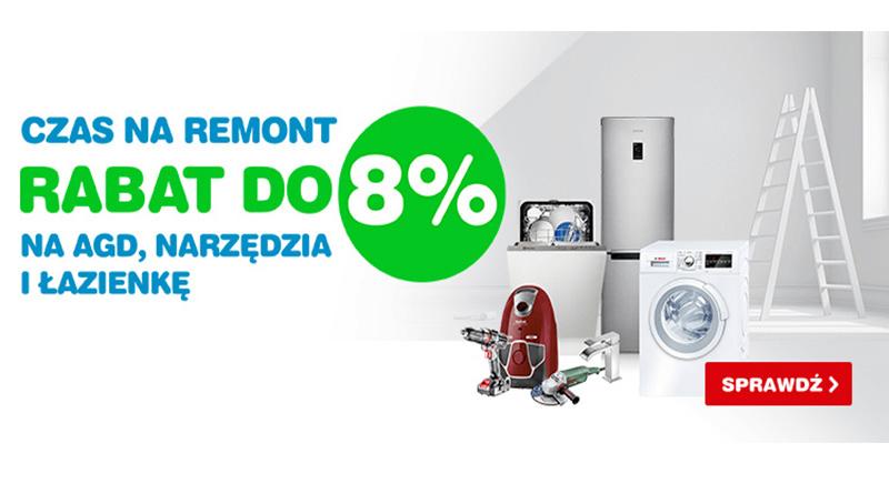 Rabaty do 8% na AGD, narzędzia i łazienkę w OleOle